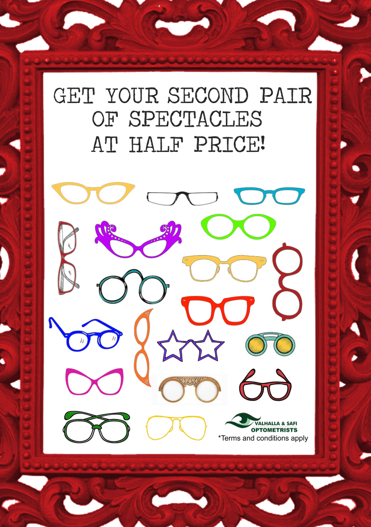 Special - 2nd Pair - Valhalla & SAFI Optometrists
