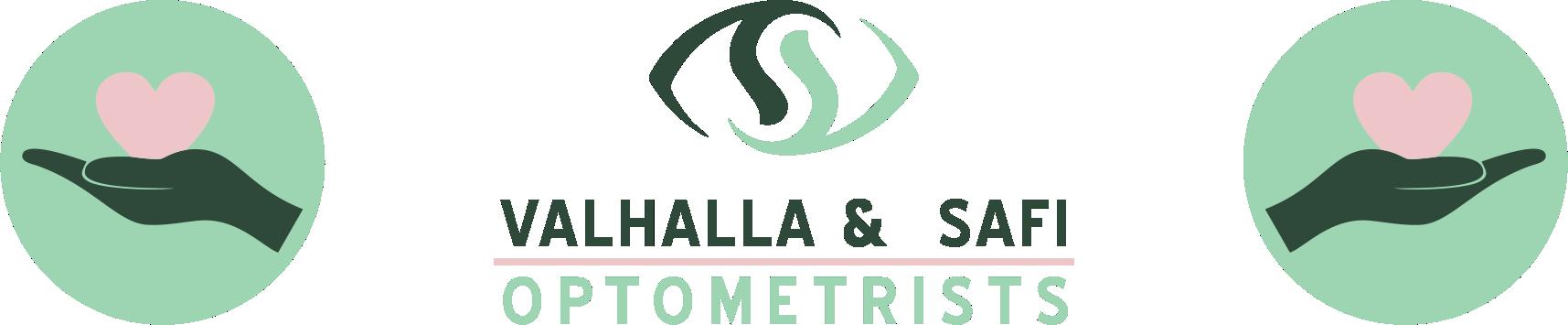 Valhalla & SAFI Optometrists Logo Community
