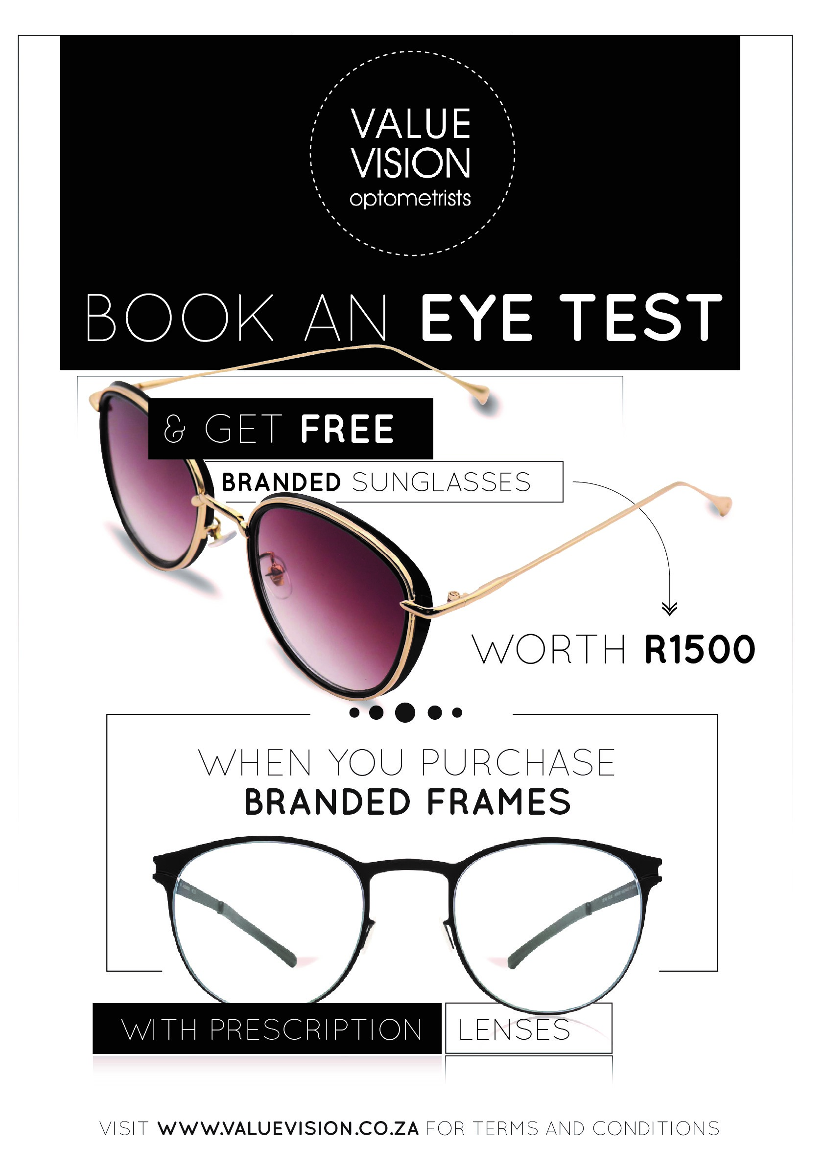 Special - Value Vision - Valhalla & SAFI Optometrists